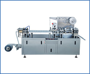 DPP-120H Automatic Honey Olive Oil Chocolate Blister Packing Machine