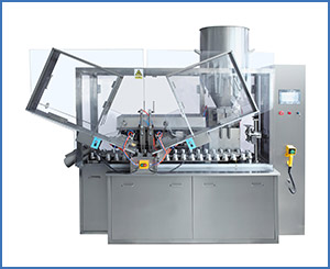 NF-100 Cream Soft Tube Filling Sealing Machine