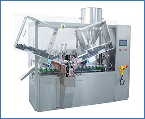 NF-120 Fully automatic Plastic tube and aluminum tube filling sealing machine