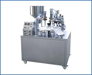 NF-30 semi-automatic tube filling sealing machine