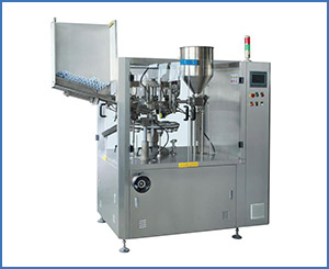 NF-80 Automatic Al Aluminum/Plastic Soft Tube Filling and Sealing Machine Lotion