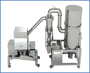 WFJ Series Dust Collecting Fine Crusher