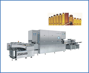 20-100 ML High Speed Oral Syrup Filling Machine Production Line