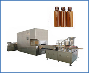5-25 ML Oral Syrup Filling Machine Production Line