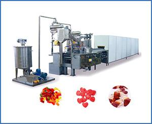 APK-GD150Q Medium Scale Gummy Making Machine Up to 150kg Gummys /hr