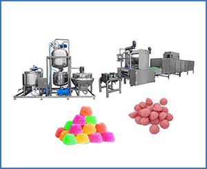 APK-GD300Q Large Scale Gummy Making Machine Up to 300kg Gummys /hr