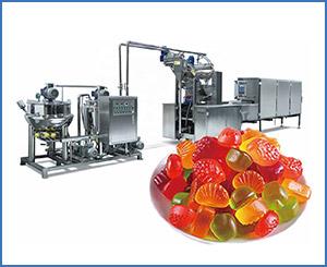 APK-GD80Q Small Scale Gummy Making Machine Up to 80kg Gummys /hr