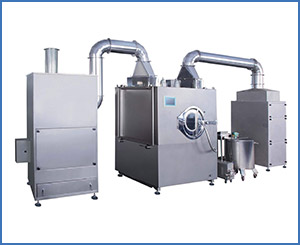 BG-150 Pharma Tablet Coating Machine With Air Filter