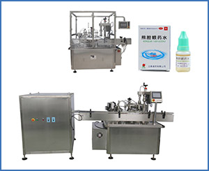 Eye Drop Filling Machine Production Line