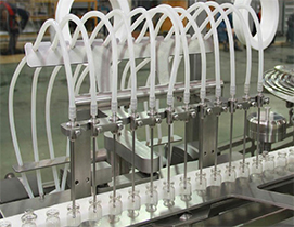 part of vial filling machine