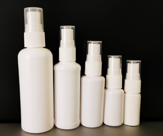 Different size plastic medicine bottles for liquid filling
