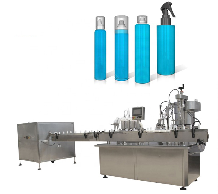 Sprays Filling machine