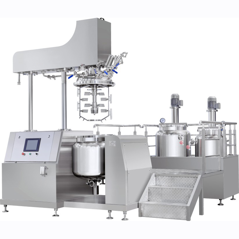 vacuum emulsifying mixer up homogenizer