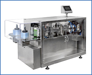 APKGGS-118(P2) Horizontal Liquid Filling And Sealing Machine
