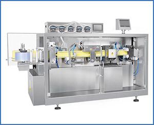 APKGGS-118(P5) Horizontal Liquid Filling And Sealing Machine