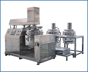 APKZRJ Bottom Homogenizer Vacuum Emulsifying Mixer
