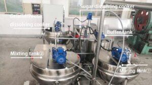 Aipak Gummy Making Machine Mixing System