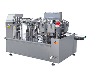 Automatic Food Vacuum Rotary Packing Machine