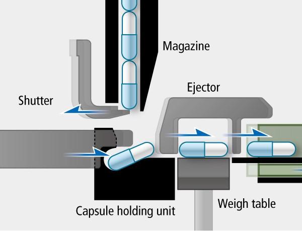 Capsule Filling Process
