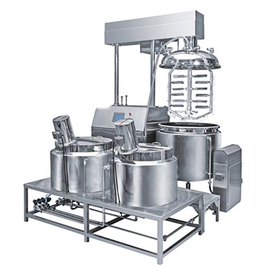 Micro Vacuum Emulsifying Mixer