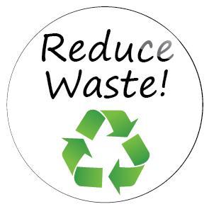 Reduce Wastage