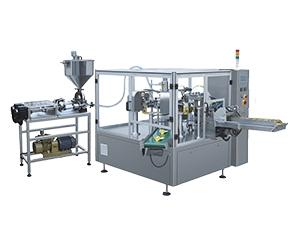 Rotary Liquid Pouch Packing Machine-