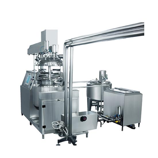 Suppository Vacuum Emulsifying Mixer