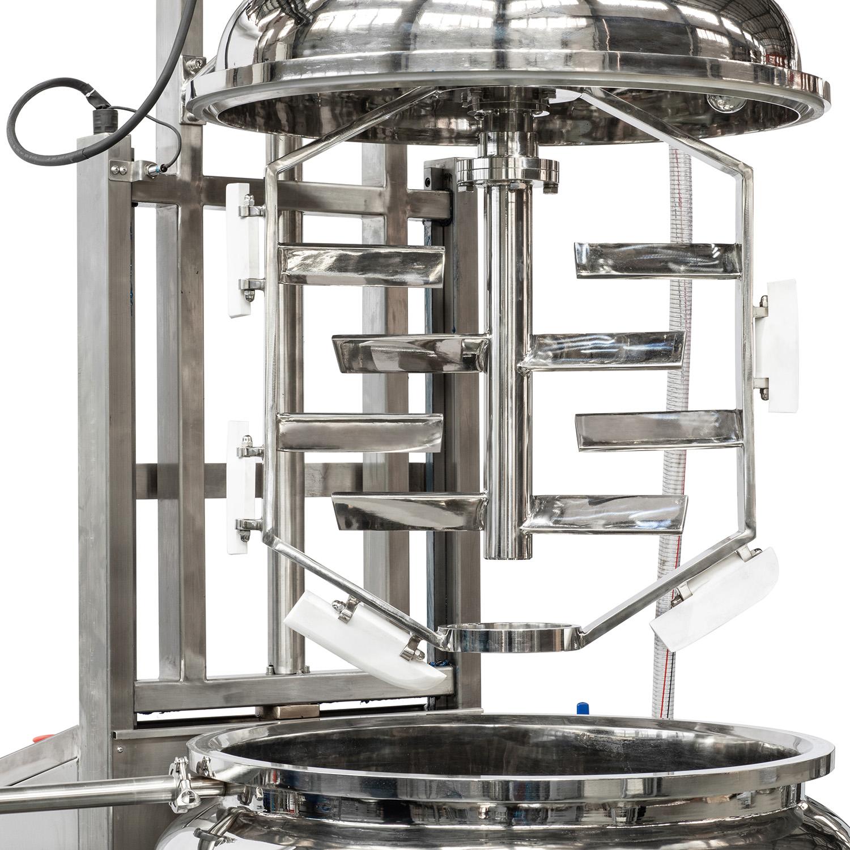 vacuum emulsifying mixer slider