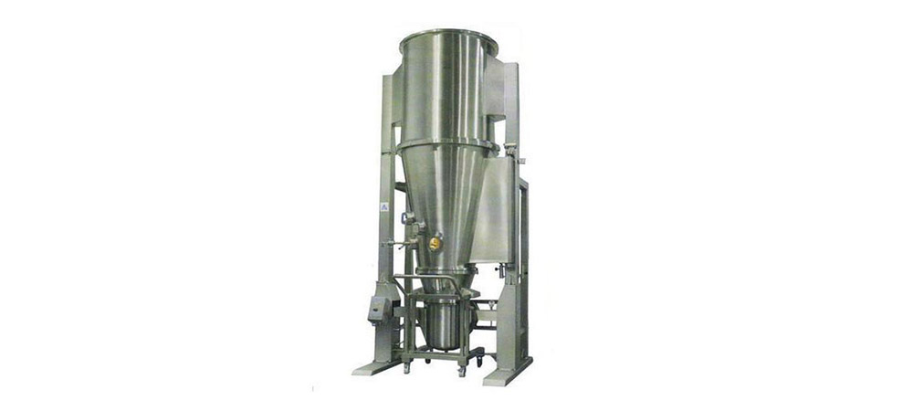 Fluidized bed coater