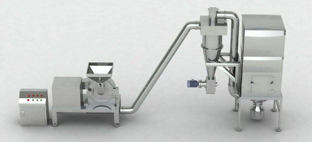 Model-WF-Series-Cyclone-Pulse-Dust-collecting-Fine-Pulverizer