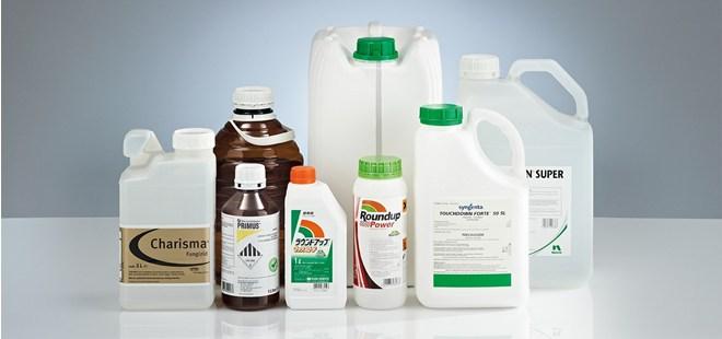 Pesticides Bottle Sealed