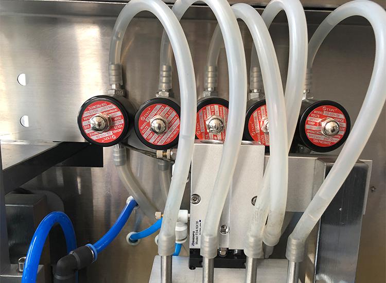 horizontal liquid filling and sealing machine part