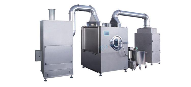 Film Coating Machine- Picture Courtesy