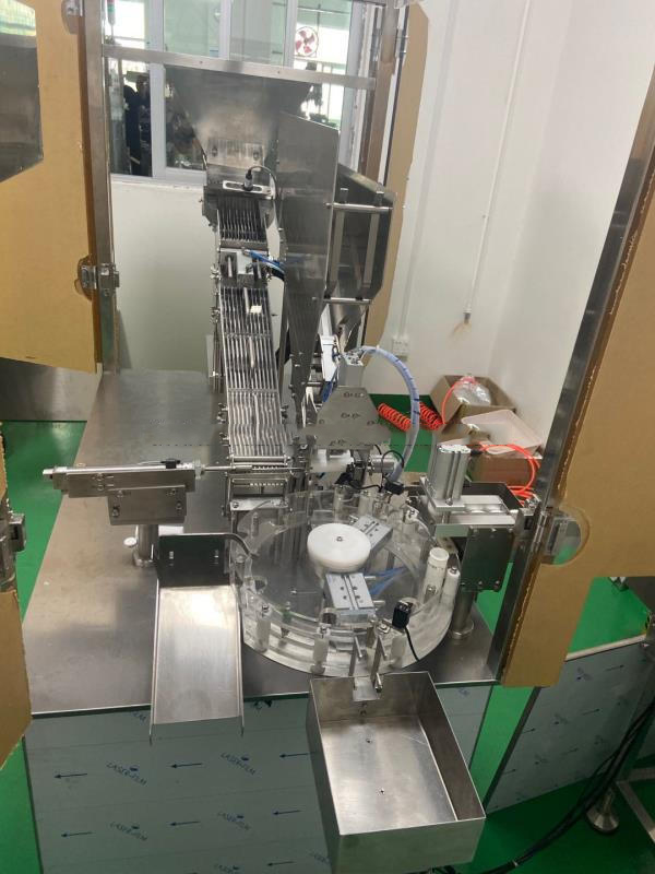 components of the Effervescent Tube Packing Machine 11