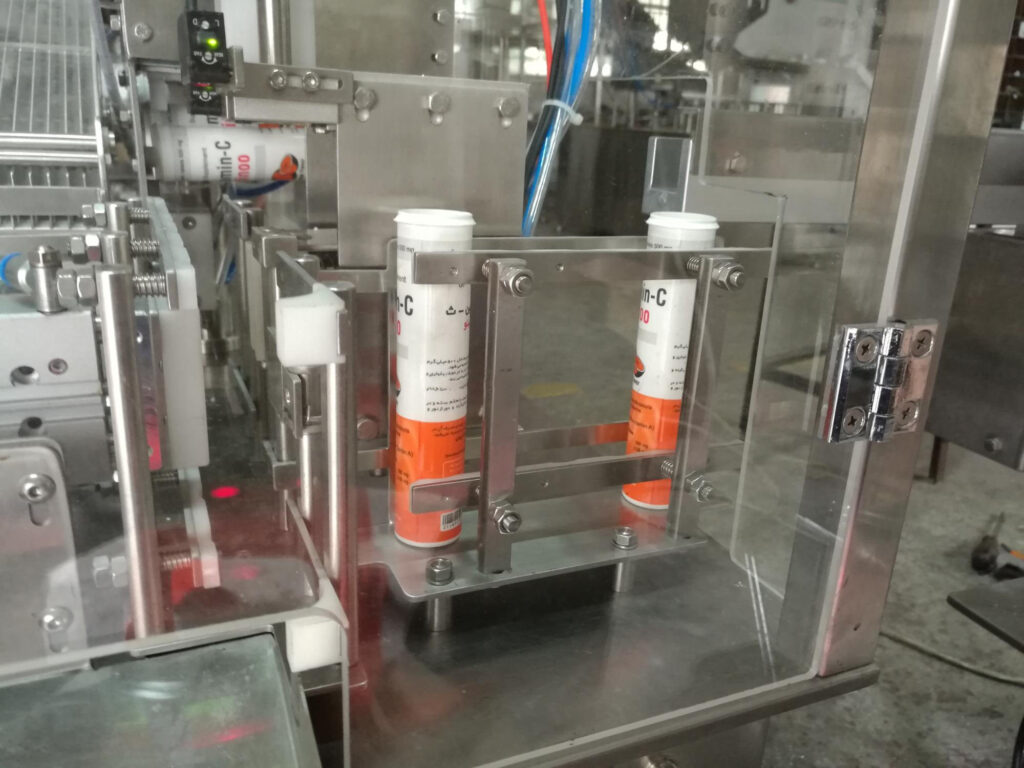components of the Effervescent Tube Packing Machine 7