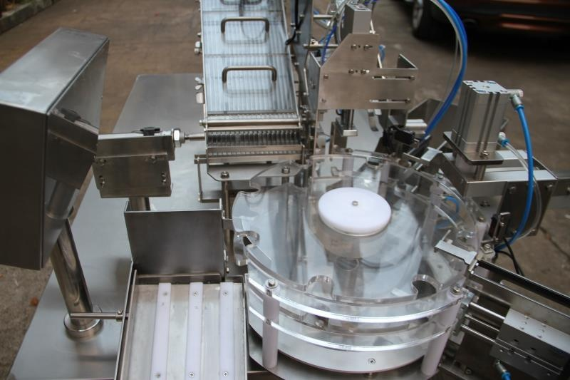 components of the Effervescent Tube Packing Machine 8