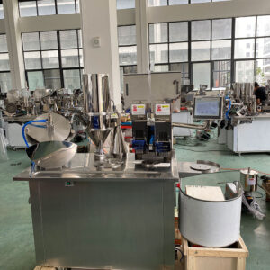 CGN-208S Double Head Semi-Automatic Capsule Filling Machine