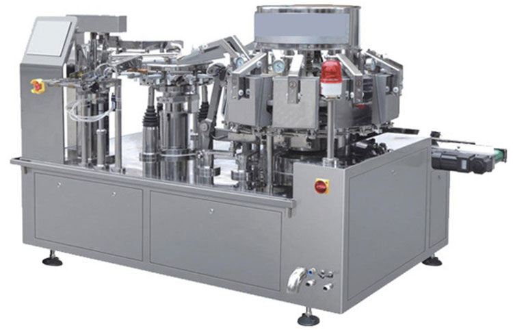 Aipak Vacuum Rotatory Packaging Machine