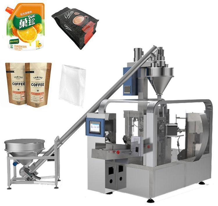 Aipak Rotatory Powder Pouch Packaging Machine