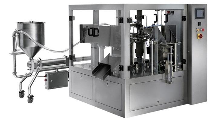 Automatic Rotatory Liquid Packaging Machine
