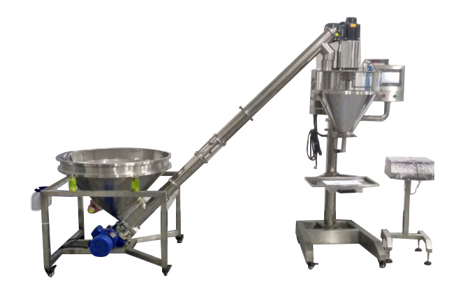 Semi Automatic Auger Filler Machine For powder