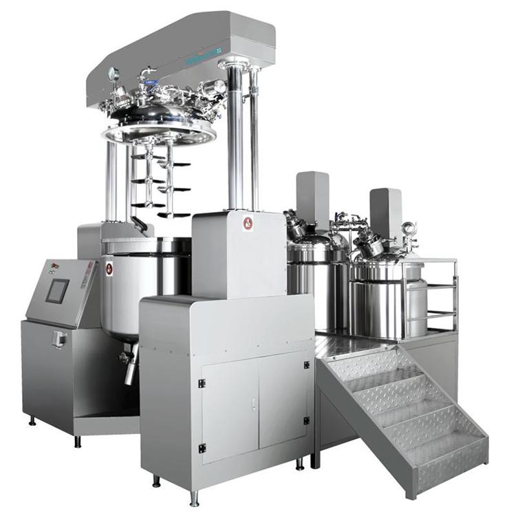 A-nanometer--Vacuum-Emulsifying-mixer