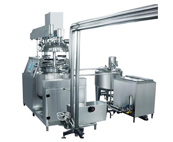 A-suppository-Vacuum-Emulsifying-Mixer