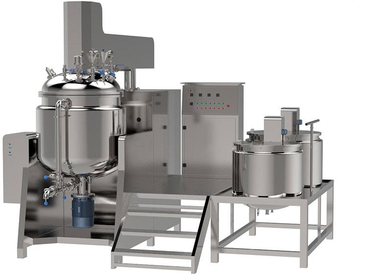 Vacuum-Emulsifying-Mixer