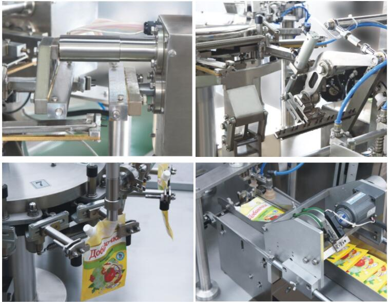 parts of rotary packing machine 3
