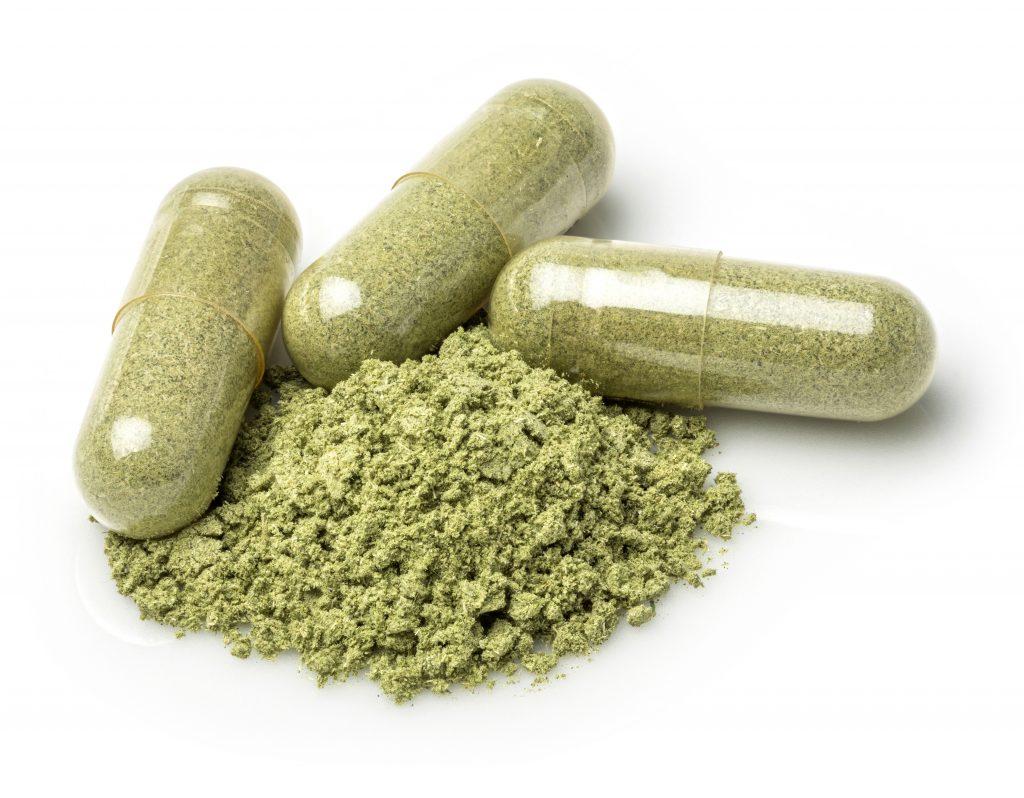 powders in capsule