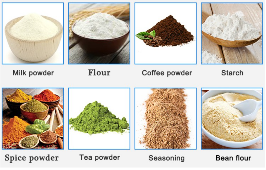 product of powder filling machine 2