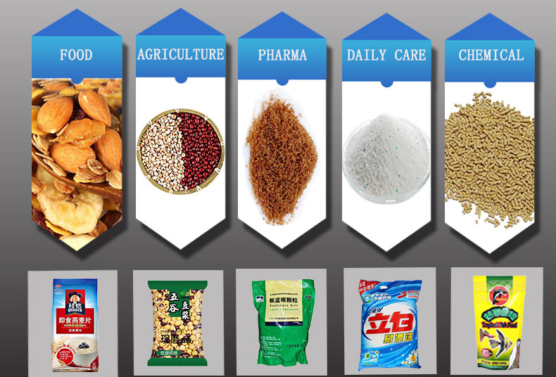 products of rotary packing machine 2