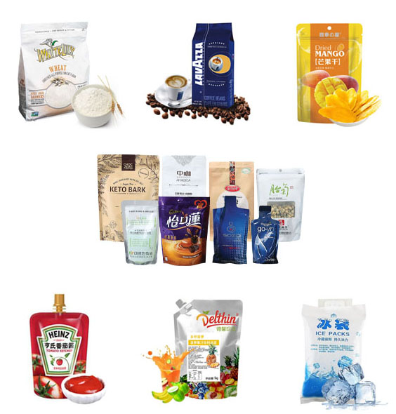 products of rotary packing machine 3